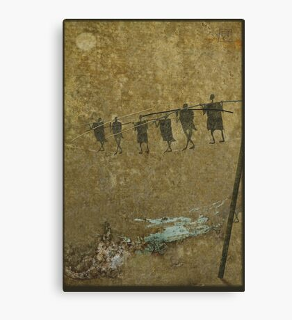 high wire Canvas Print