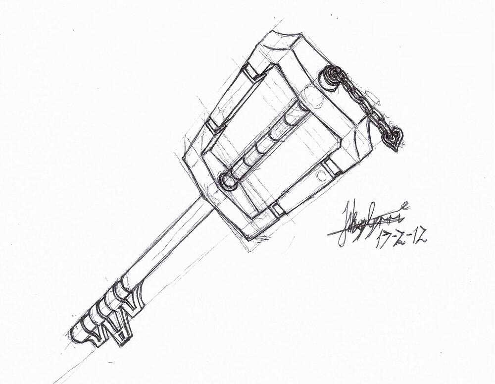 Keyblade by lejakeus