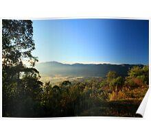 Sullivan's Lookout near Mt Beauty - Victoria Poster