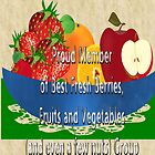 Banner for fruits, veggies  by aldona