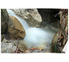 Eurobin Creek - Mt Buffalo Victoria Poster