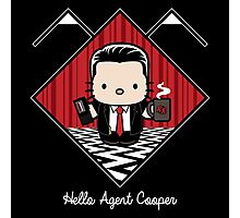 Hello Agent Cooper Photographic Print