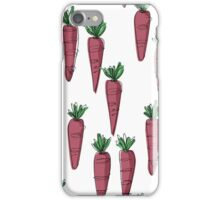 Purple Carrots iPhone Case/Skin
