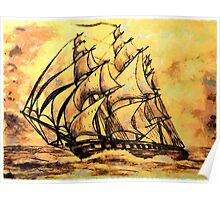 Cutty Sark the Clipper Ship Poster