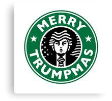 Merry Christmas Donald Trump! Sincerely, Starbucks  Canvas Print