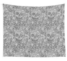 Threads of a skull! Wall Tapestry