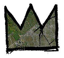 "Basquiat ""King of Beverly Hills California""  Photographic Print"