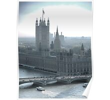 Parliament from the Eye. Poster