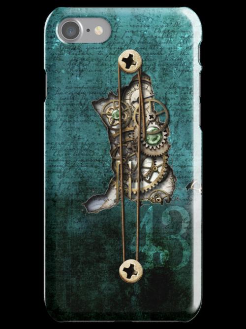 iphone case 4  inner workings by Melanie Moor
