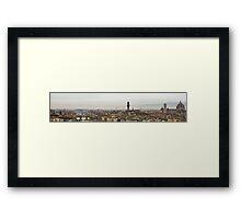 Firenze Panoramic  Framed Print