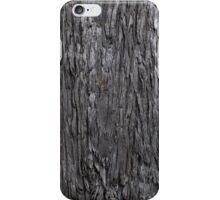 Burnt bark iPhone Case/Skin