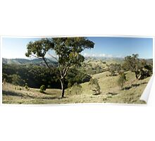 Valley of a Thousand Hills - Strath Creek Victoria Poster