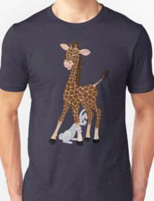 Friends Come In All Shapes And Sizes Unisex T-Shirt