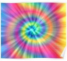 Tie Dye Effects Poster