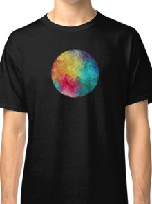 Abstract Color Wave Flash Classic T-Shirt