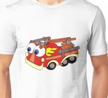 Little Red Firetruck Unisex T-Shirt