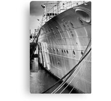 SOS - Save Our Ship Metal Print