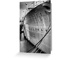 SOS - Save Our Ship Greeting Card