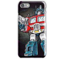 Transformers Optimus Prime Chibi iPhone Case/Skin