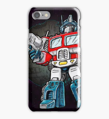 Transformers Optimus Prime Chibi iPhone Case/Skin