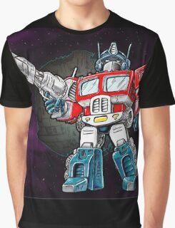 Transformers Optimus Prime Chibi Graphic T-Shirt