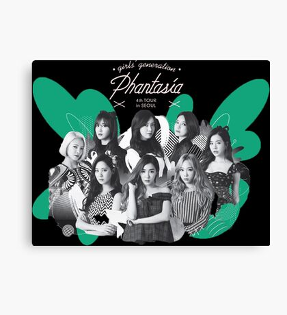 Girls' Generation (SNSD) 'PHANTASIA' Concert in Seoul Canvas Print