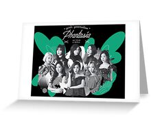 Girls' Generation (SNSD) 'PHANTASIA' Concert in Seoul Greeting Card