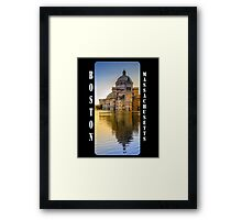 The First Church of Christ, Scientist, in Boston, Massachusetts Framed Print