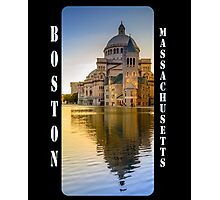The First Church of Christ, Scientist, in Boston, Massachusetts Photographic Print