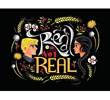 Real Or Not Real Photographic Print