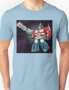 Transforming Mech Leader Optimal Primus Unisex T-Shirt