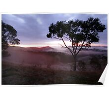 Sunrise Valley of a Thousand Hills - Victoria Poster