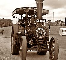 Burrell Road Loco by Mike Streeter