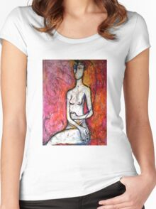The Knowing Women's Fitted Scoop T-Shirt