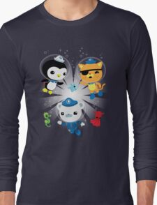 Octonauts, to your stations! Long Sleeve T-Shirt