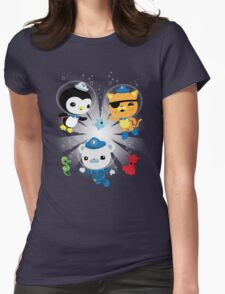 Octonauts, to your stations! Womens Fitted T-Shirt