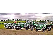 Bedfords through the ages Photographic Print
