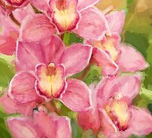 Orchid Joy by Patricia L. Walker