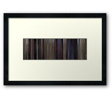 Moviebarcode: The Blues Brothers (1980) Framed Print