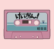 K-On! Cassette Design by Fairfaxx