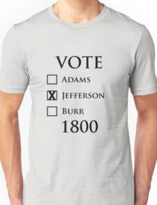 Vote Jefferson! Unisex T-Shirt