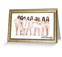 Girls Generation Greeting Card
