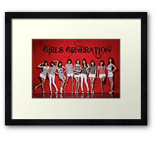 Girls Generation Framed Print