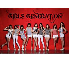 Girls Generation Photographic Print