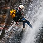 Abseiling the Empress Falls by Chris  Randall