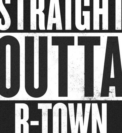 Straight Outta B-Town - Indiana University Sticker