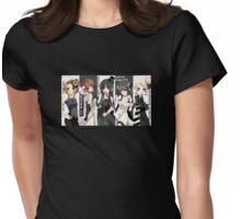K-On! Style Womens Fitted T-Shirt