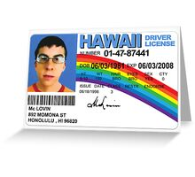 McLovin! Greeting Card
