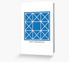 Design 87 Greeting Card