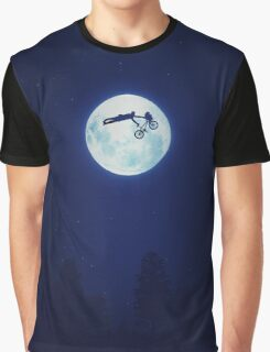 Riding the Kuwahara BMX. Like A Boss! Graphic T-Shirt